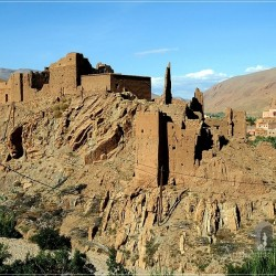 Dades Valley – another kasbah in ruins