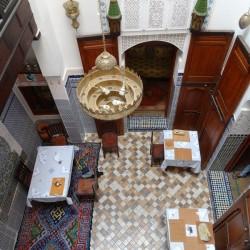 Casa Aya Medina: the inner courtyard
