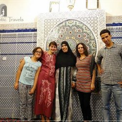 Casa Aya Medina - with Milouda, Mohammed, and other family members