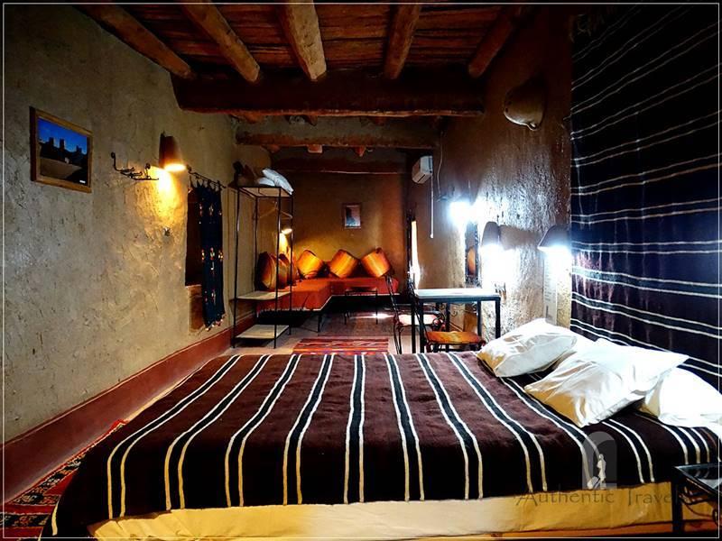 Ksar El Khorbat - refurbished in a restored mud-brick house inside the ksar