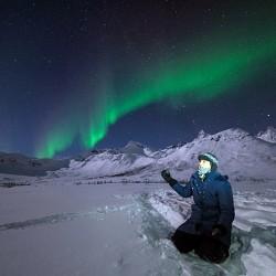 Aurora Borealis: Kattfjord – Kvaloya Island