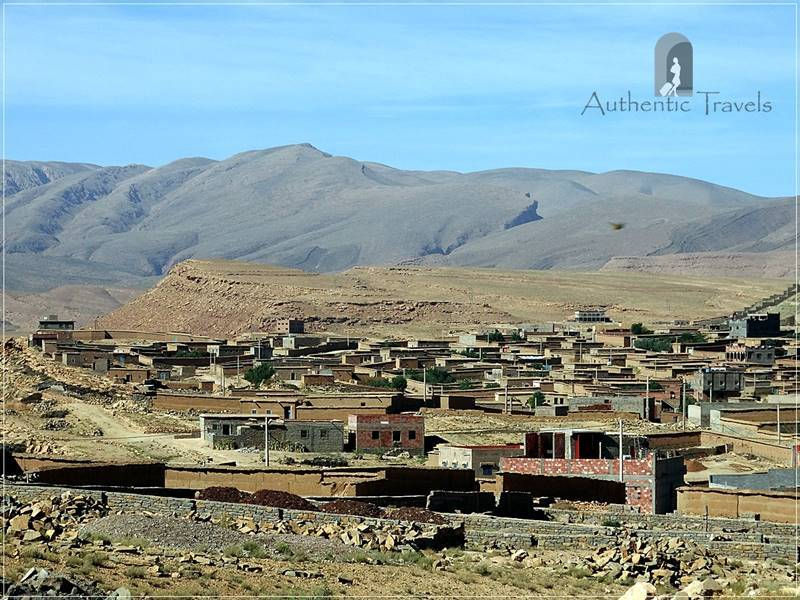 Tamtettouchte village - somewhere in the mountains