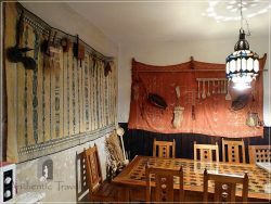 Dar Kamal Chaoui – the dining room from the ground floor