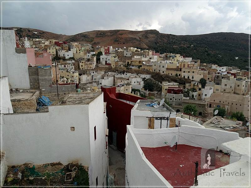Dar Kamal Chaoui –Bhalil village seen from the rooftop terrace of the house