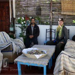 Dar Kamal Chaoui – with Kamal Chaoui on the rooftop terrace of the house