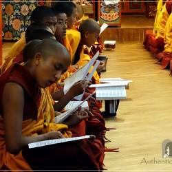 Kopan Monastery: puja ceremony