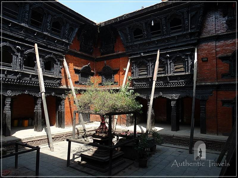 Kathmandu - Durbar Square - Kumari Ghar (the house of the Newari living goddess)