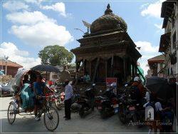 Kathmandu - Durbar Square - Trailokya Mohan Narayan Temple