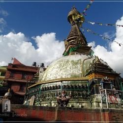 Kathmandu - Kathesimbhu Stupa near Thahiti Tole