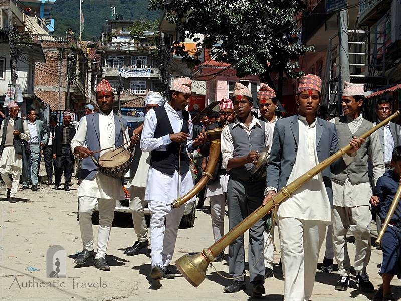 Budhanilkantha (around Kathmandu) - a local wedding