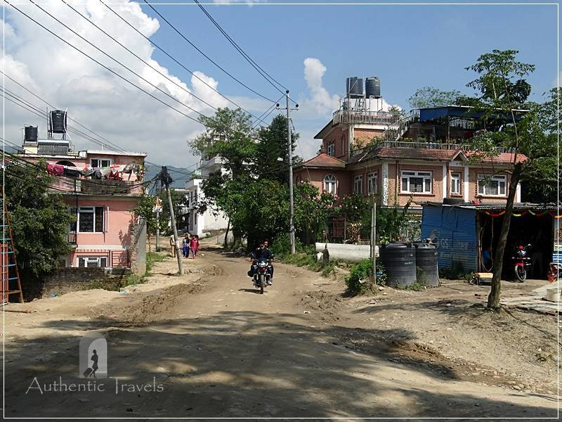 Walking from Gokarna to Bodhnath area (around Kathmandu)