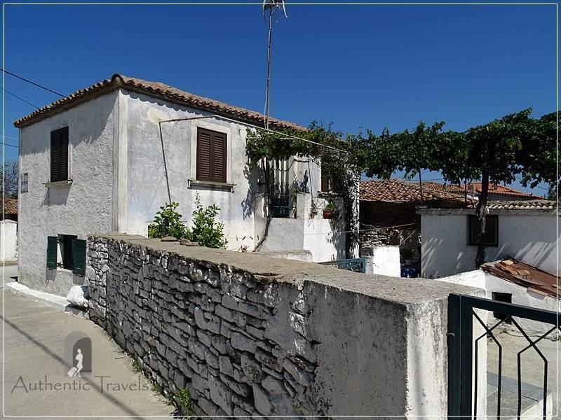 Lemnos Island: Fisini Village - traditional whitewashed houses