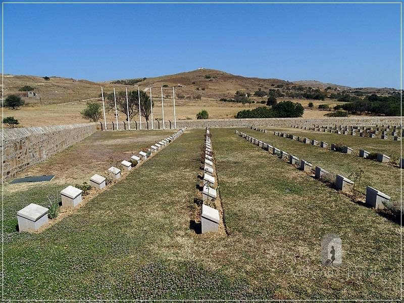 Lemnos Island: Portianos Military Cemetery