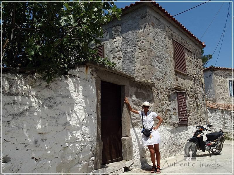 Lemnos Island: Thanos Village - old stone houses