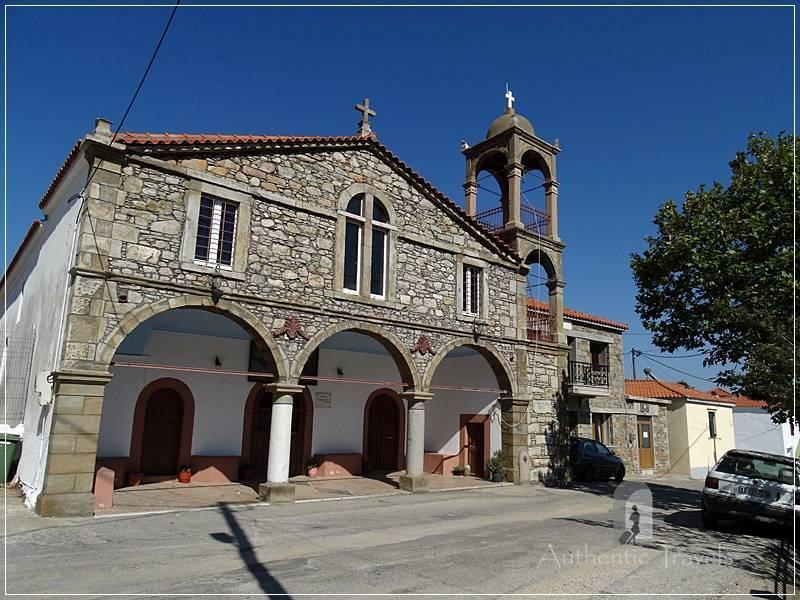 Lemnos Island: Dafni Village - the church of the village