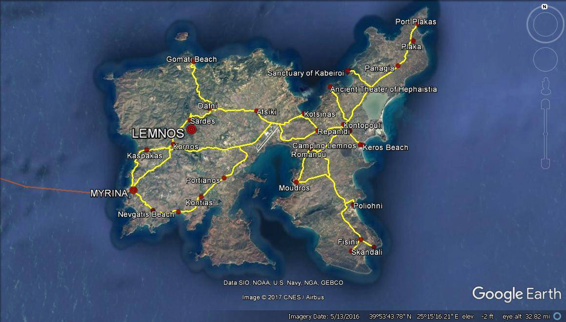 Greek Islands Travel Planning – Lemnos Island (5 days)