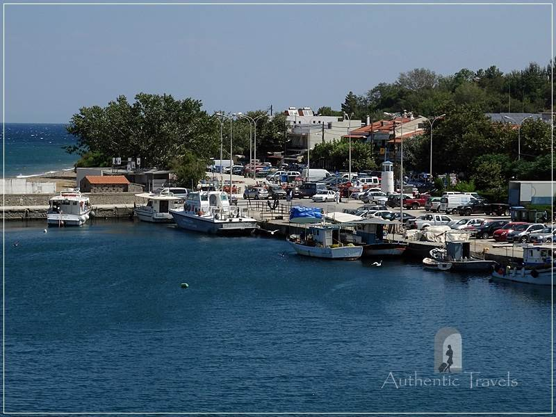 Samothraki Island: Kamariotissa small port