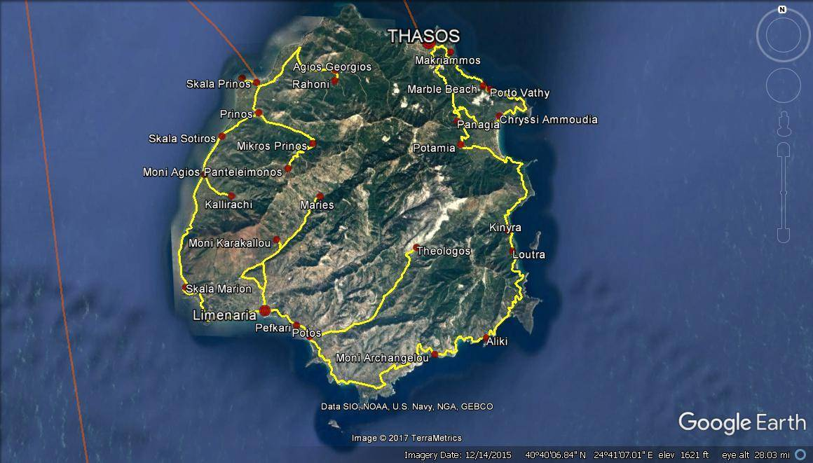 Greek Islands Travel Planning – Thassos Island (6 days)