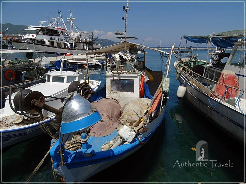 Thassos Island - Thasos town: the small port
