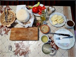 Etno House Shancheva - traditional, simple but hearty breakfast