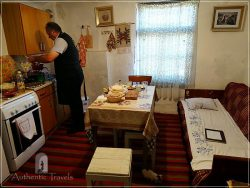 Etno House Shancheva - the kitchen of the guesthouse