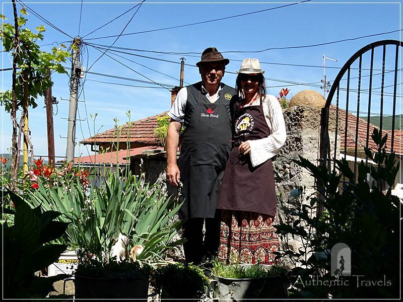 Etno House Shancheva - with Stevce Donevski, the landlord of the guesthouse (June 2017)