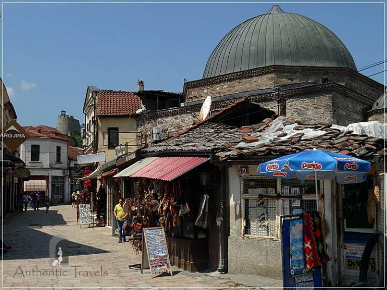 Skopje (old, Turkish Bazaar - Carsija)