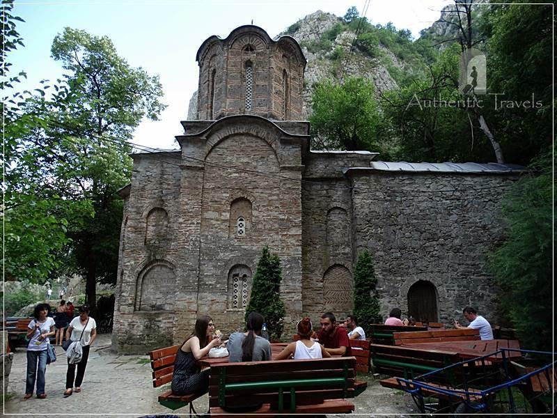 Skopje's surroundings: Matka Canyon - Saint Andrew Monastery