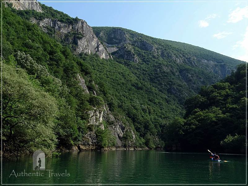 Skopje's surroundings: Matka Canyon