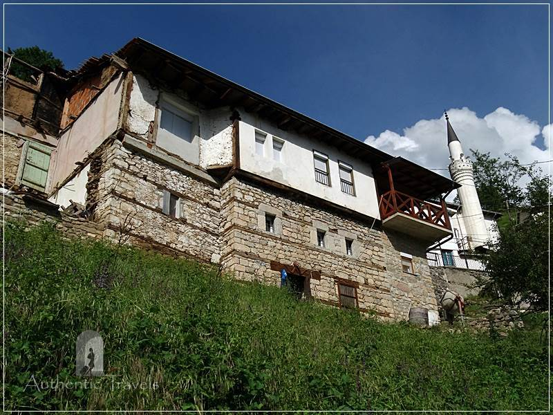 Jance village -Radika Canyon, near Mavrovo