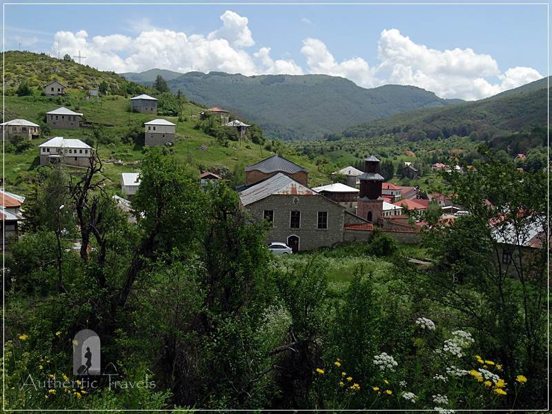 Lazaropole village - the highest village from Macedonia, near Mavrovo