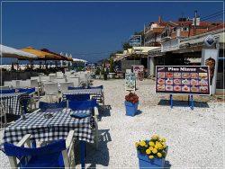 Greek Taverna in Limenaria, Thassos Island