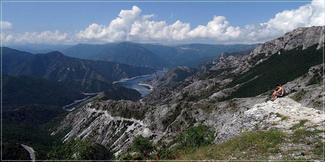 Kozjak Lake, near Skopje