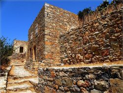 Fortress of Spinalonga Island
