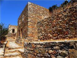 Fortress of Spinalonga Island