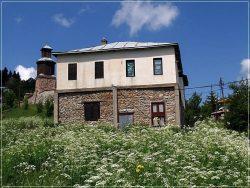 Traditional house in Lazaropole Village