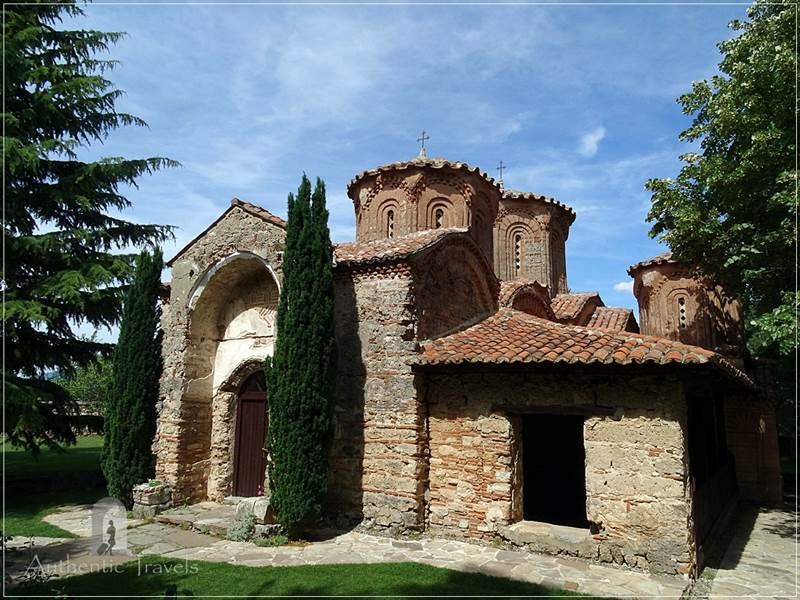 The church of Veljusa monastery, near Strumica