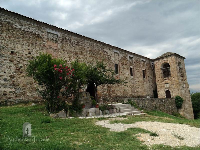 Start Dojran - the old stone church of Sveti Ilija