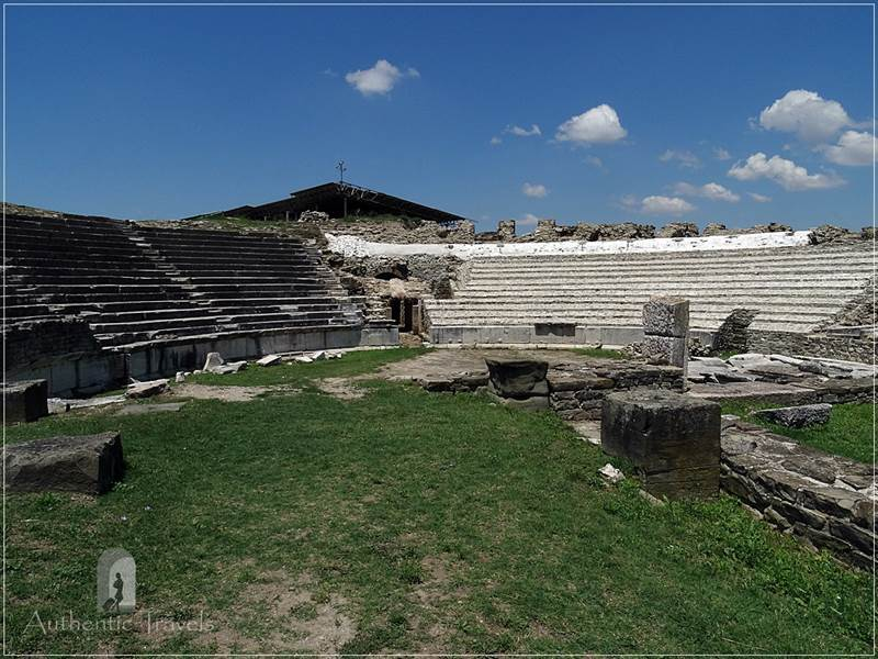 Stobi - the ancient theater