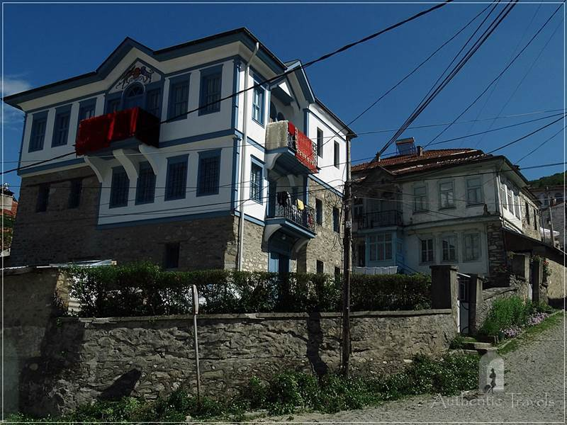 Krusevo - old Macedonian houses