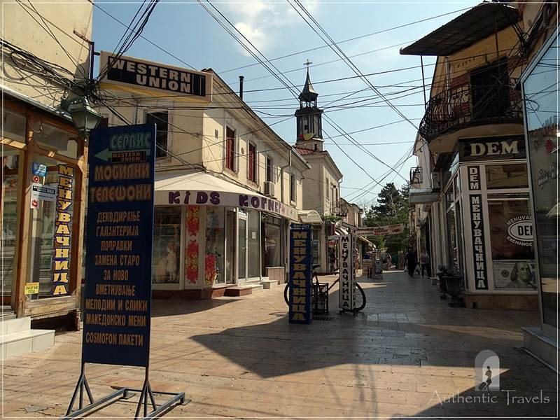Prilep - the streets of the old bazaar