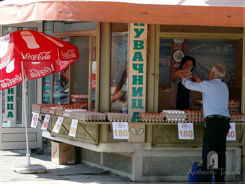 Prilep - a shop that sells only eggs