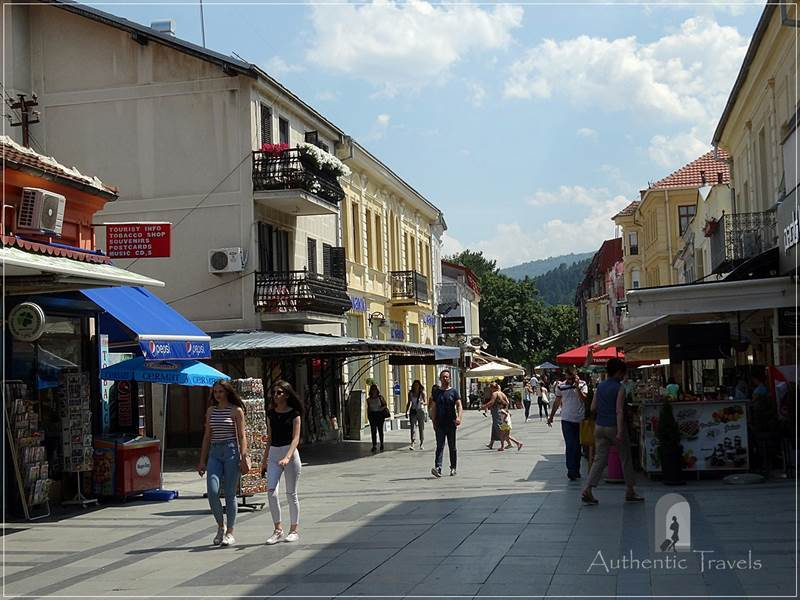 Bitola - Shirok Sokak (the main pedestrian street)