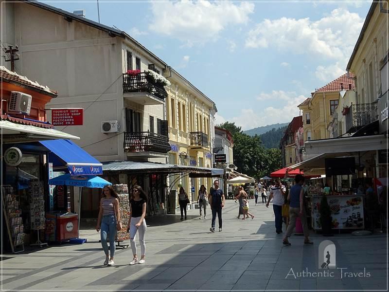 Bitola - Shirok Sokak (the main pedestrian street)