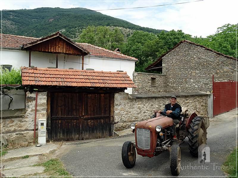 Brajcino village, near the Greek border