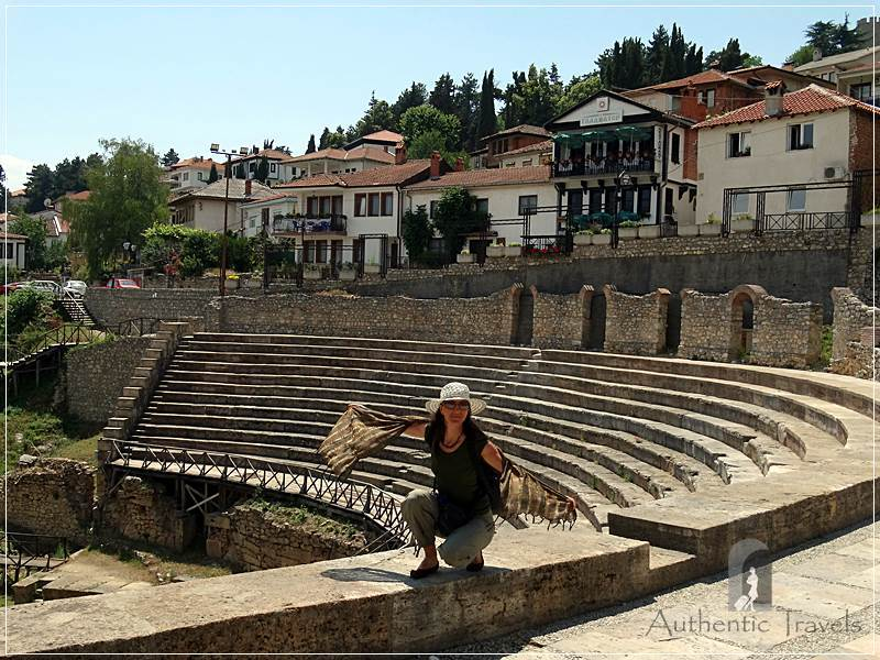 Ohrid - the old Roman theater