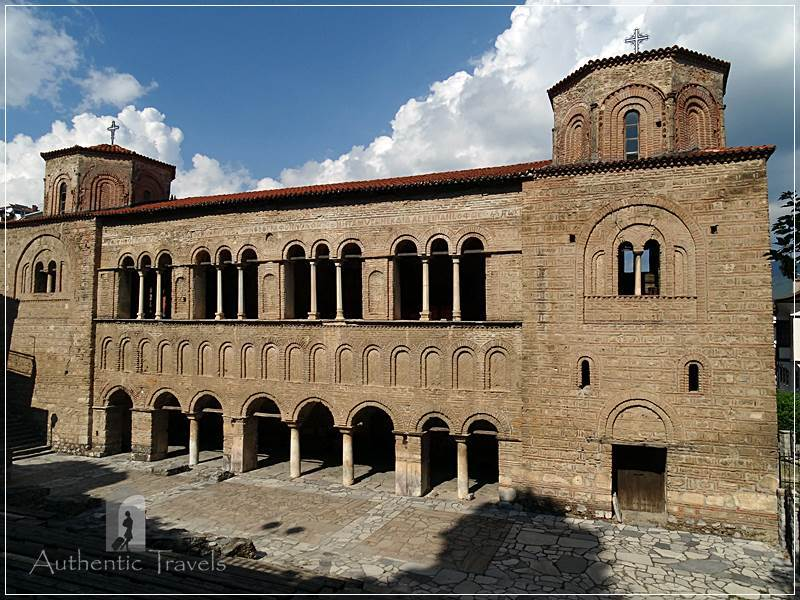 Ohrid - the cathedral of Sveti Sofia