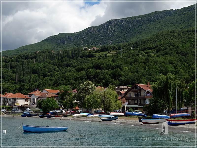 Ohrid Lake - Peshtani village