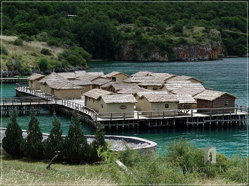Ohrid Lake - Gradiste: Museum on Water in the Bay of Bones