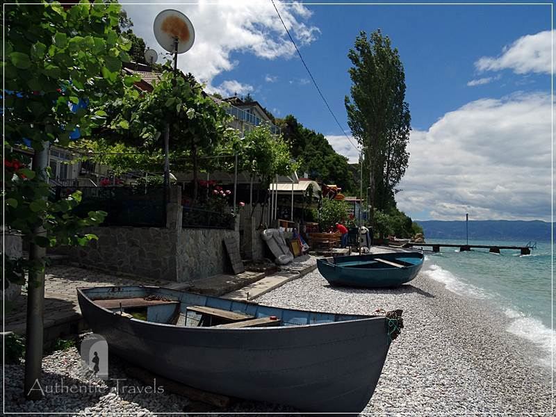 Ohrid Lake - Trpejca fishermen village
